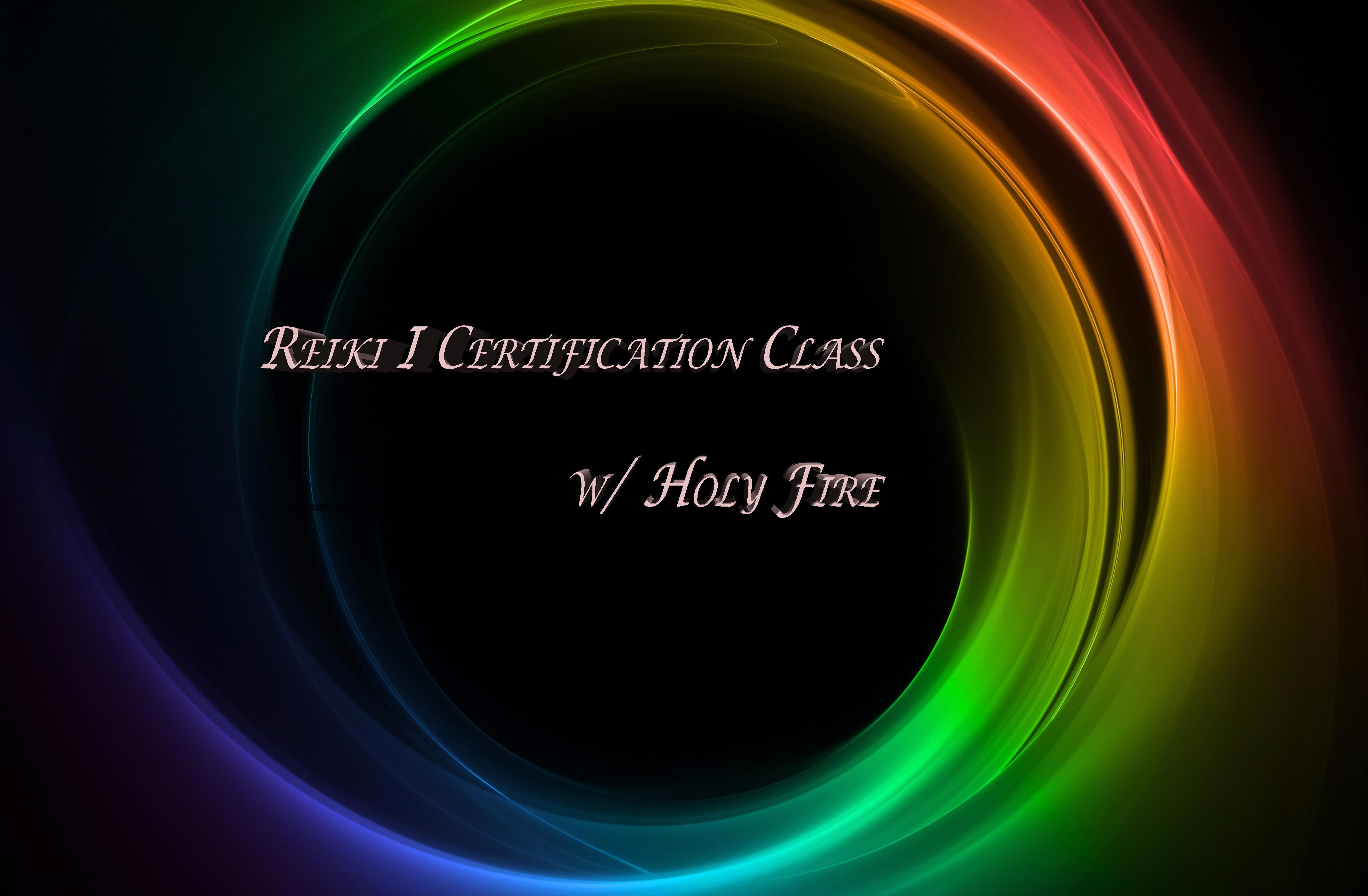 Reiki I Certification Class @ Temecula Reiki Center