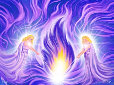 Sound Bath: Violet Flame Journey (souled out) @ Temecula Reiki Center